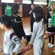 桜井市図書館において避難所実体験型訓練